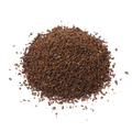 Heap of coarse ground roasted coffee isolated on white background - PhotoDune Item for Sale