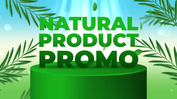 Natural Product Promo