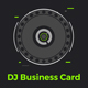Club DJ Business Card Template - GraphicRiver Item for Sale