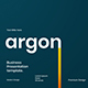 Argon – Business PowerPoint Template