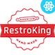 RestroKing - Cake Pizza & Bakery React Template - ThemeForest Item for Sale