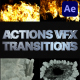Smoke And Fire Transitions | After Effects - VideoHive Item for Sale