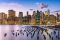 New York City, USA city skyline on the East River - PhotoDune Item for Sale