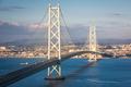 Akashi Kaikyo Bridge Spanning the Seto Inland Sea - PhotoDune Item for Sale