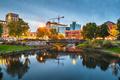 Kalamazoo, Michigan, USA Skyline - PhotoDune Item for Sale