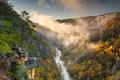 Tallulah Falls, Georgia, USA overlooking Tallulah Gorge - PhotoDune Item for Sale