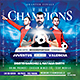 Game Day - The Champions Soccer Flyer - GraphicRiver Item for Sale