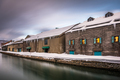 Otaru, Japan winter Skyline on the Canals - PhotoDune Item for Sale