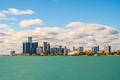 Detroit, Michigan, USA downtown city skyline - PhotoDune Item for Sale