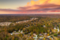 Neighborhoods in Autumn at Dusk - PhotoDune Item for Sale