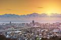 Toyama, Japan Skyline with Tateyama Mountain - PhotoDune Item for Sale