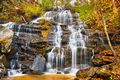 Issaqueena Falls during autumn season in Walhalla, South Carolina - PhotoDune Item for Sale