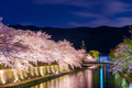 Kyoto, Japan on the Okazaki Canal during the spring cherry blossom season - PhotoDune Item for Sale
