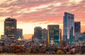 Boston, Massachusetts, USA downtown cityscape from across the Charles River - PhotoDune Item for Sale