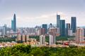 Shenzhen, China Downtown Skyline - PhotoDune Item for Sale