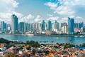 Xiamen, China city skyline from Gulangyu Island - PhotoDune Item for Sale
