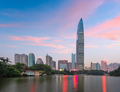 Shenzhen, China City Skyline at Twilight - PhotoDune Item for Sale