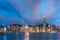 Hong Kong, China Cityscape on the Harbor - PhotoDune Item for Sale