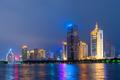 Xiamen, China skyline on Yundang Lake - PhotoDune Item for Sale