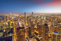 Chicago, Illinois, USA aerial cityscape towards Lake Michigan - PhotoDune Item for Sale