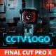 CCTV Security Logo for Final Cut Pro X