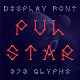 Pulstar Font - GraphicRiver Item for Sale
