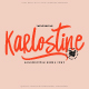 Karlostine Font - GraphicRiver Item for Sale