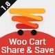 WooCommerce Cart Share and Save - CodeCanyon Item for Sale