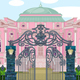 Romantic Palace with Gate - GraphicRiver Item for Sale
