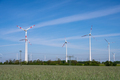 Wind park in a rural area - PhotoDune Item for Sale