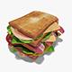Mega Club Sandwich - 3DOcean Item for Sale