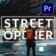 Street Opener | Mogrt - VideoHive Item for Sale
