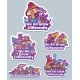 Set of Stickers with Mushrooms - GraphicRiver Item for Sale