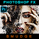 Smudge Portrait - Photoshop Effect - GraphicRiver Item for Sale