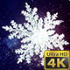 Crystal Snowflakes Background Pack - VideoHive Item for Sale