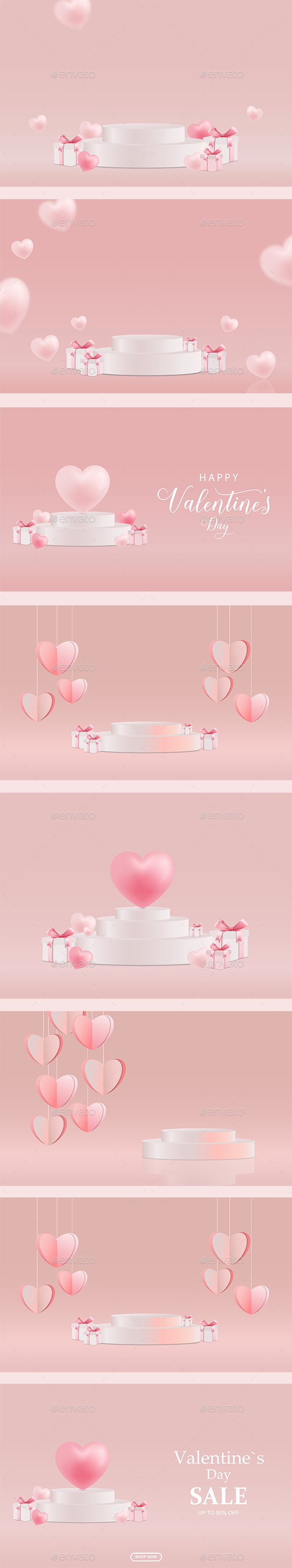Valentines Day Sale Product Stand