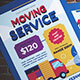 Moving Service Flyer - GraphicRiver Item for Sale