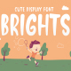 Brights - Cute Display Font - GraphicRiver Item for Sale