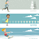 Horizontal Banners for the Four Seasons Skating - GraphicRiver Item for Sale