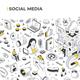 Social Media Isometric Banner Illustration - GraphicRiver Item for Sale