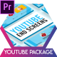 Glass Youtube End Screens - VideoHive Item for Sale