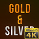 Gold And Silver Backgrounds Pack - VideoHive Item for Sale