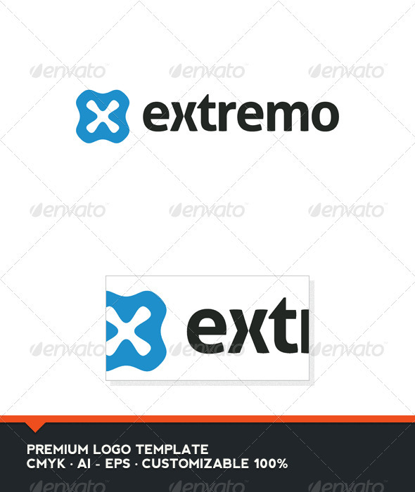 Extremo Logo Template