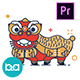 Chinese New Year Animation Icons | Premiere Pro MOGRT - VideoHive Item for Sale