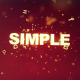 Simple Text Opener - VideoHive Item for Sale