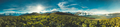 Mountain panorama summer landscape. Georgia - PhotoDune Item for Sale