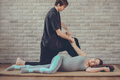 Traditional Thai Massage of a pregnant woman - PhotoDune Item for Sale