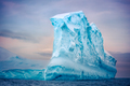 Antarctic iceberg floating in ocean - PhotoDune Item for Sale