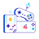 Game Controllers Illustration - GraphicRiver Item for Sale
