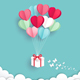 Valentine's Day Card Paper Cut Style - GraphicRiver Item for Sale